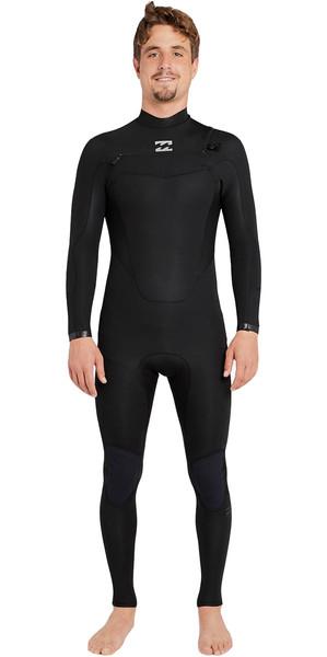 2018 Billabong Absolute Comp 3/2mm Chest Zip Wetsuit BLACK F43M21