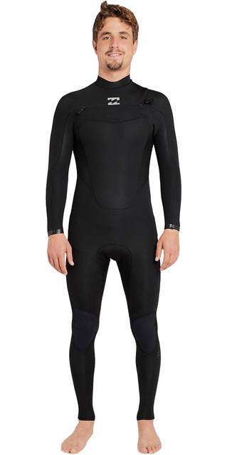 2018 Billabong Absolute Comp 3/2mm Chest Zip Wetsuit Black F43m21 Picture