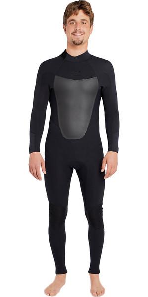 2018 Billabong Absolute 3/2mm GBS Back Zip Wetsuit BLACK H43M16