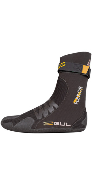 2018 Gul Flexor 3mm Split Toe Wetsuit Boot Black BO1299-B4