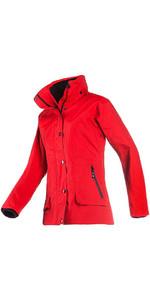 Baleno Dynamica Womens Waterproof Jacket Red 21444