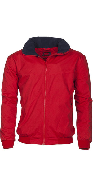 Baleno Typhoon Waterproof Fleece Lined Blouson Jacket Red 24106