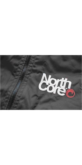 2020 Northcore Beach Basha Pro 4 Season Change Robe BLACK NOCO24J