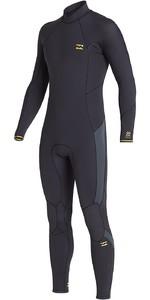 2020 Billabong Mens Absolute 5/4mm Back Zip GBS Wetsuit U45M60 - Antique Black