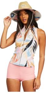 2021 Billabong Womens Salty Daze 1mm Neoprene Vest Z41G13 - Heat Wave