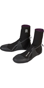 2020 Billabong Furnace Absolute 5mm Round Toe Boots Black Q4BT12