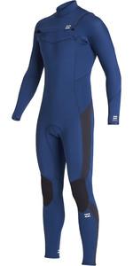 2020 Billabong Junior Boys Furnace Absolute 3/2mm Chest Zip GBS Wetsuit S43B63 - Blue
