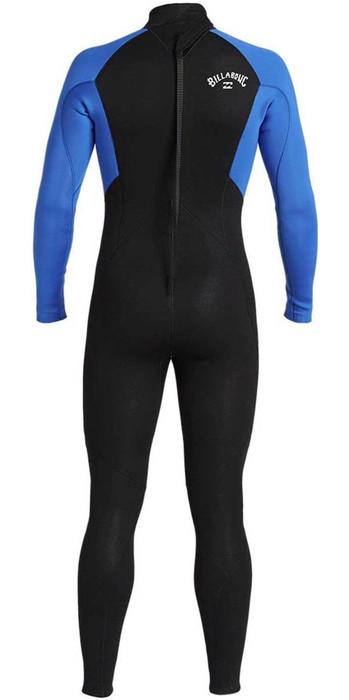 2021 Billabong Junior Boys Intruder 5/4mm GBS Back Zip Wetsuit 045B18 - Blue