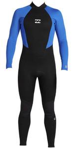 2021 Billabong Junior Boys Intruder 3/2mm Back Zip GBS Wetsuit 043B18 - Blue