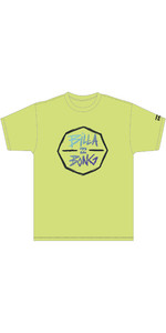 2020 Billabong Junior Boys Octo UV Surf Tee S4EQ05 - Yellow