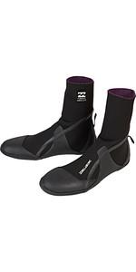 2019 Billabong Junior Furnace Absolute 3mm Round Toe Boots Black Q4BT15