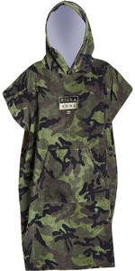 2019 Billabong Junior Hooded Changing Robe / Poncho Camo N4BR02