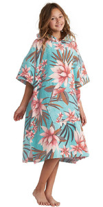 2020 Billabong Junior Hooded Poncho Change Towel S4BR51 - Waterfall