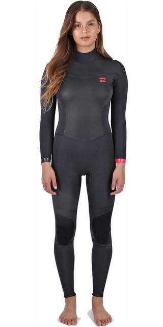 2017 Billabong Ladies Synergy 3 2mm Back Zip Flatlock Wetsuit in Black  Sands C43G01. £87.50 3a61bced2