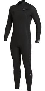 2020 Billabong Mens Absolute 4/3mm Chest Zip GBS Wetsuit U44M60 - Black