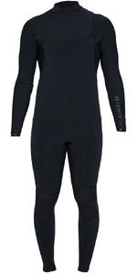 2020 Billabong Mens Black Album Furnace Comp 3/2mm Chest Zip Wetsuit S43M60 - Black