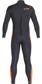 2019 Billabong Mens Furnace Absolute 3/2mm Back Zip Wetsuit Black Sand Q43M09