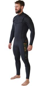 2019 Billabong Mens Furnace Absolute 4/3mm Chest Zip Wetsuit Camo Q44M90