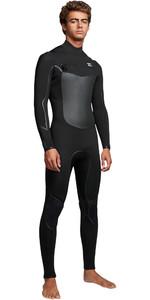 2019 Billabong Mens Furnace Absolute X 5/4mm Chest Zip Wetsuit Black Q45M07