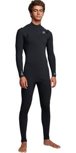 2019 Billabong Mens Furnace Comp 5/4mm Chest Zip Wetsuit Black Q45M04