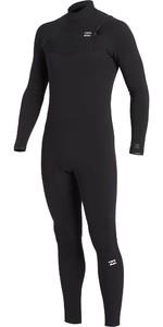 2020 Billabong Mens Furnace Comp 5/4mm Chest Zip Wetsuit U45M53 - Black