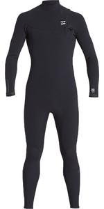 2019 Billabong Mens Furnace Comp 3/2mm Zip Free Wetsuit Black Q43M82
