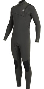 2020 Billabong Mens Furnace Natural 5/4mm Zipperless Wetsuit U45M50 - Black Moss