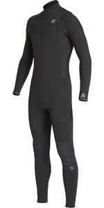 2020 Billabong Mens Furnace Revolution 3/2mm Chest Zip Wetsuit Black Q43M81