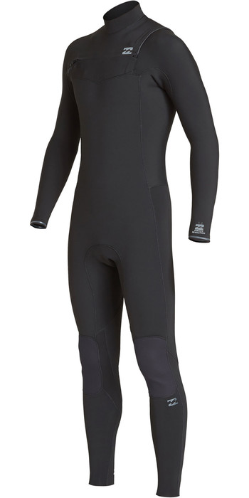 2020 Billabong Mens Furnace Revolution 3/2mm Chest Zip Wetsuit Black Q43M81
