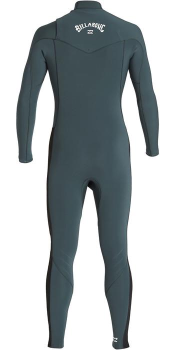 2020 Billabong Mens Furnace Revolution 3/2mm Chest Zip Wetsuit Military Q43M81