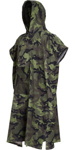 2019 Billabong Mens Hooded Changing Robe / Poncho Camo N4BR01