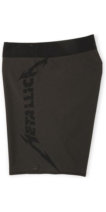 2020 Billabong Mens Metallica Black Album Boardshorts S1BS80 - Black