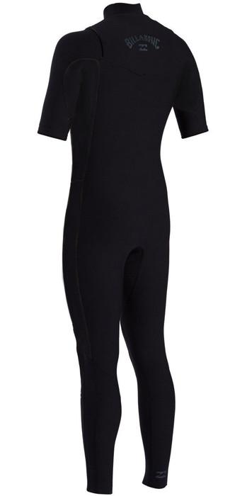 2021 Billabong Mens Revolution Pro 2mm Chest Zip Short Sleeve Wetsuit W42M54 - Camo