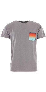 2020 Billabong Mens Team Pocket UV Surf Tee S4EQ02 - Grey Heather