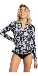 Billabong Womens Surf Capsule Peeky 1mm Neoprene Jacket BLACK SANDS H41G09