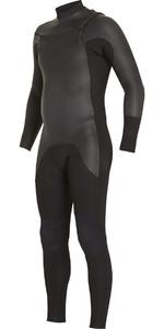 2018 Billabong Revolution 5/4mm Glide Skin Chest Zip Wetsuit BLACK F45M19 2ND
