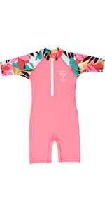 2019 Billabong Toddler Logo Combi Sun Suit Tahiti Pink N4TY02