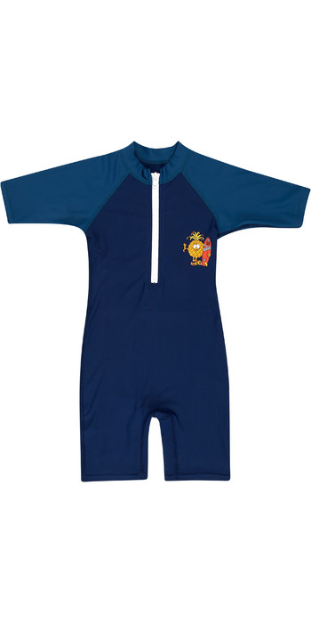 2019 Billabong Toddler Speedy Sun Suit Navy N4TY07