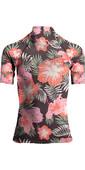 2019 Billabong Womens Flower Short Sleeve Rash Vest Hawaii N4GY03