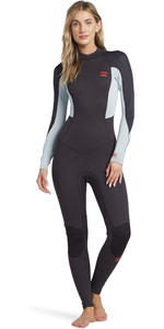 2021 Billabong Womens Launch 5/4mm Back Zip GBS Wetsuit 045G18 - Grey
