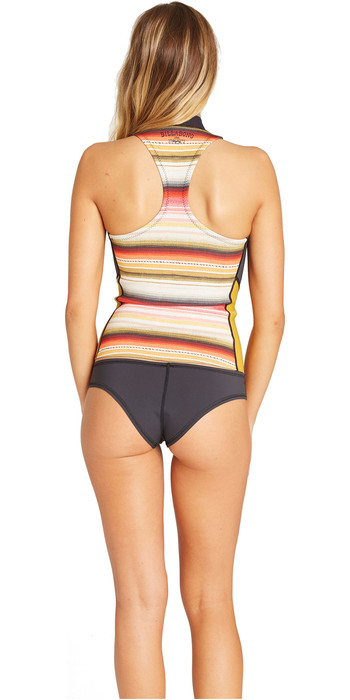 2019 Billabong Womens Salty Daze 1mm Neoprene Vest Serape N41G02