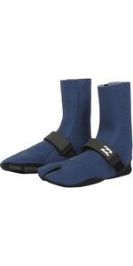 Billabong Womens Salty Daze 3mm Split Toe Boots Blue Swell L4BT23