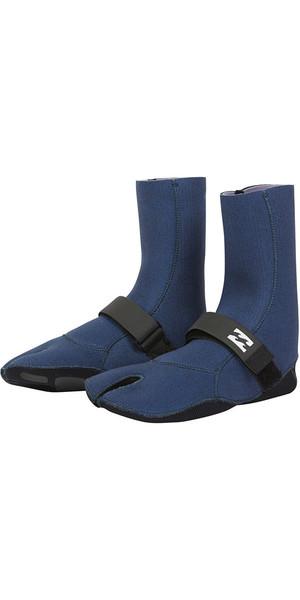 2018 Billabong Womens Salty Daze 3mm Split Toe Boots Blue Swell L4BT23