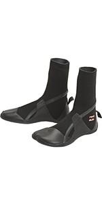 2020 Billabong Womens Synergy 3mm Hidden Split Toe Boots U4BT30 - Black