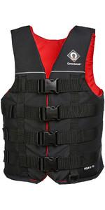 2020 Crewsaver Junior Four B 70N Buoyancy Aid / Ski Vest Black 2975J