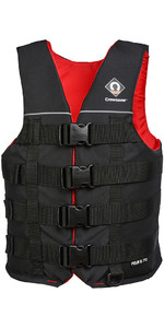 2019 Crewsaver Four Buckle 70N Buoyancy Aid / Ski Vest Black 2975