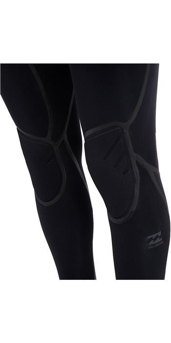 Billabong Furnace Carbon Ultra Hooded 6/5mm Chest Zip Wetsuit Black L46M01