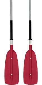 Bravo 2 Piece Kayak Paddle 2.20M Red