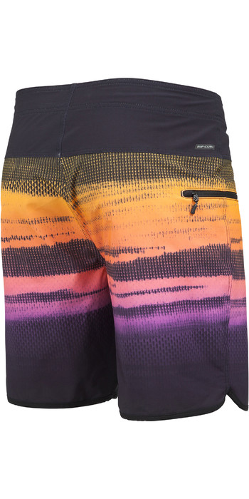 "2019 Rip Curl Mens Mirage Wilko Resin 19"" Boardshorts Black CBOAB9"