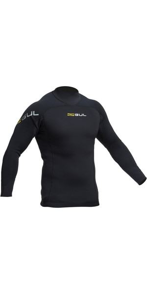 2018 GUL Junior Code Zero 1mm Thermo Top BLACK AC0115-B2